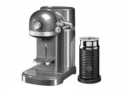 Kitchenaid 5kes0504ems 2grey nespresso firma r van for Nespresso firma